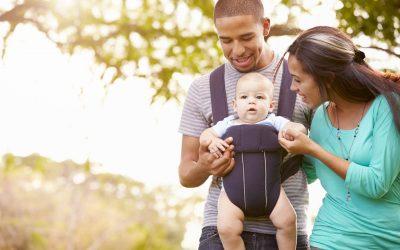 Ter uma boa postura a seguir ao bebé nascer