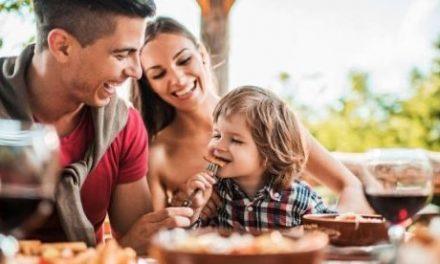 A importância da refeição em família
