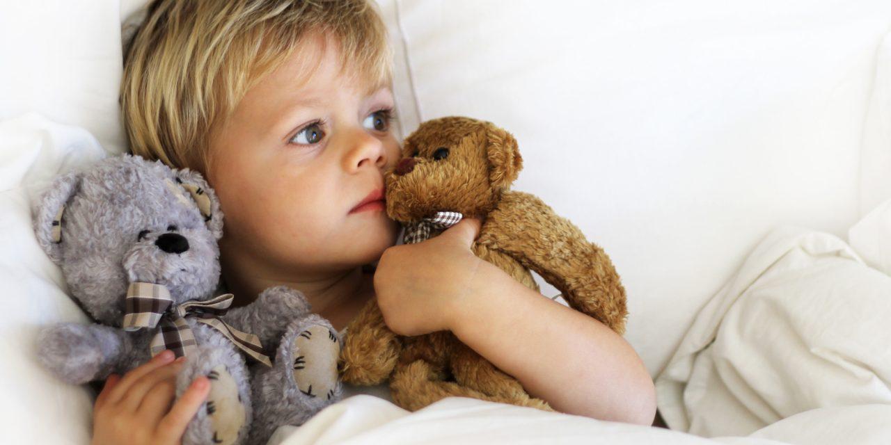 Dar bem-estar à criança nos dias de doença