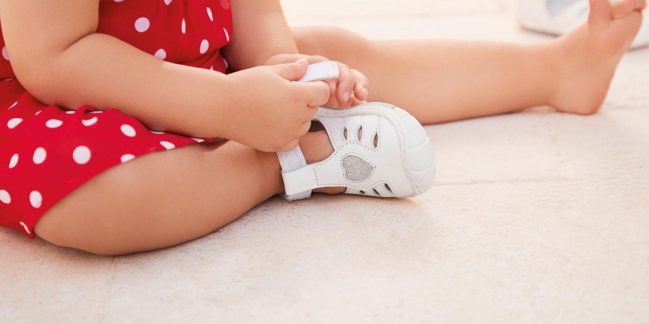 Que sapato a criança deve usar?