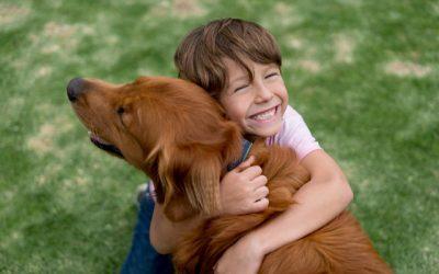 Ter um cão ajuda crianças a aprender competências sociais e emocionais
