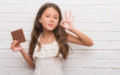 Perceção do sabor doce muda à medida que as crianças se desenvolvem