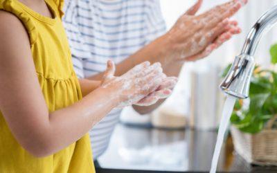 Como lavar as mãos corretamente em sete passos