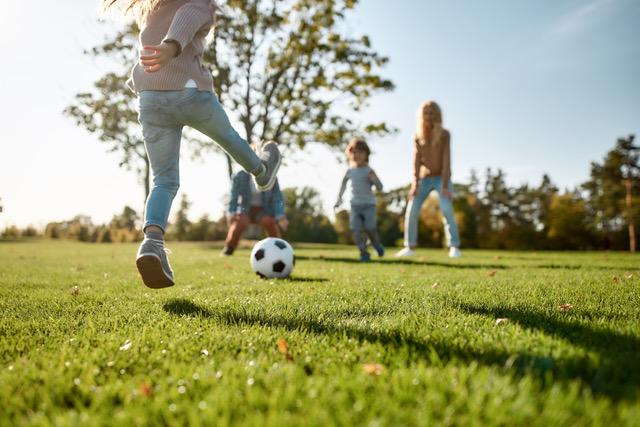 Crianças têm falta de hábitos de exercício