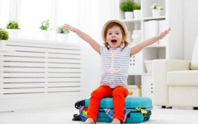 Check-list para viajar com bebés e crianças